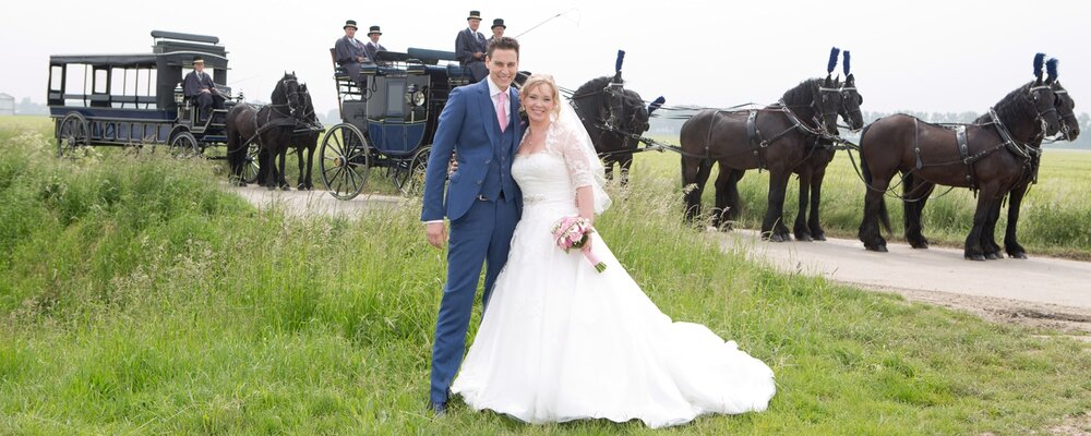 Huwelijk Charissa en Richard