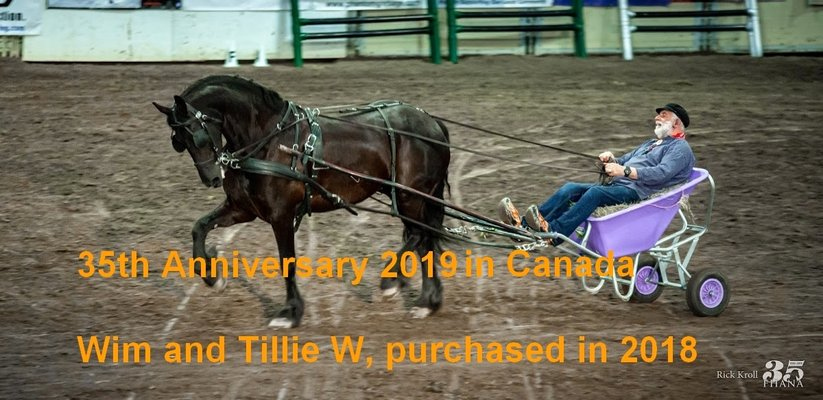 Wim and Tillie W in Canada