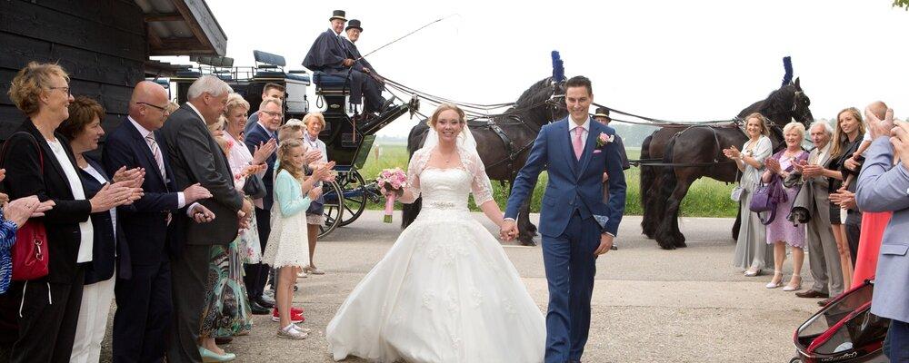 Huwelijk Charissa en Richard 3