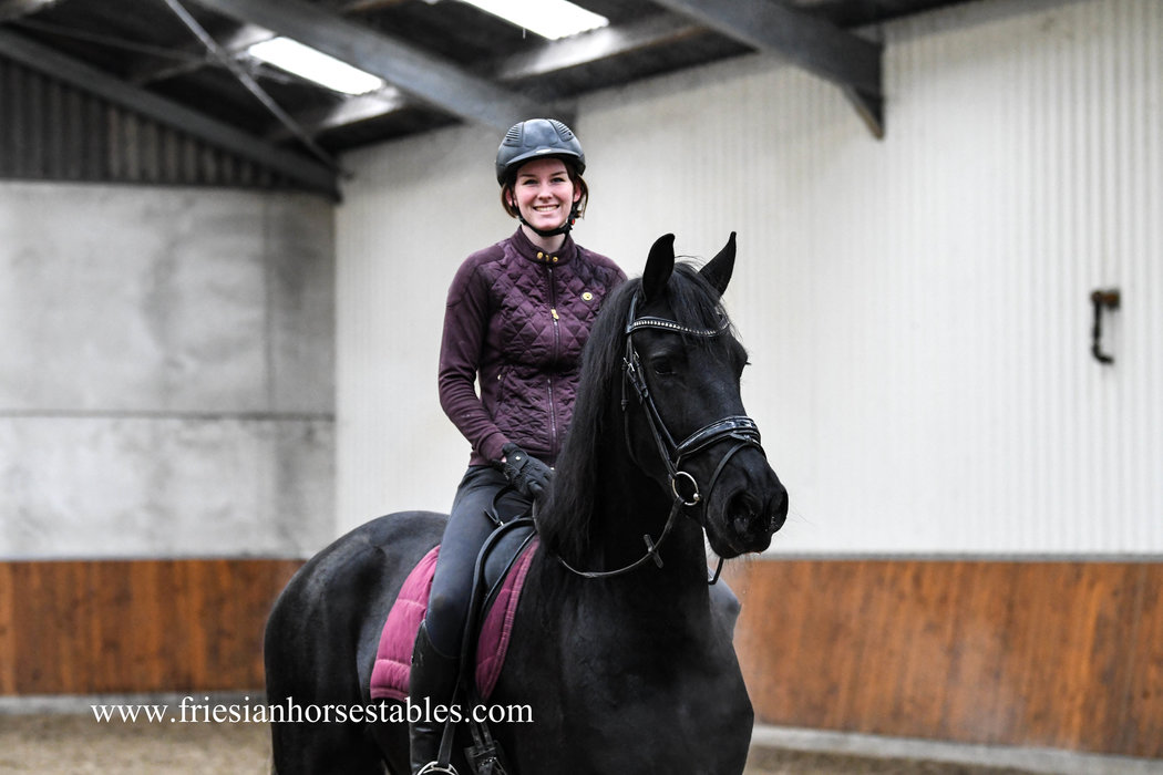 Annemijn is sold to Shelley in the UK - Congratulations with this high quality mare!!