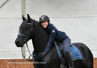 Evi is sold to Carla in The Netherlands - Congratulations with this fairytale, pregnant mare!!
